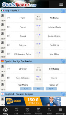 Livescore iPhone App